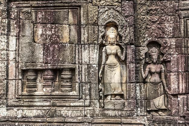 Templo banteay kdei em angkor wat em siem reap, camboja