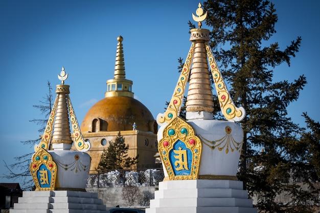 Templo budista de datsan rinpoche bagsha