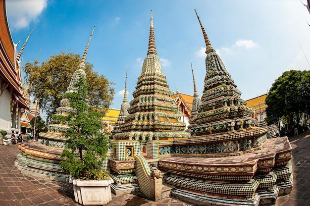 Templo budista em bangkok, tailândia