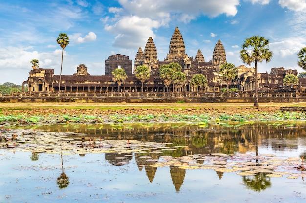 Templo de angkor wat no camboja