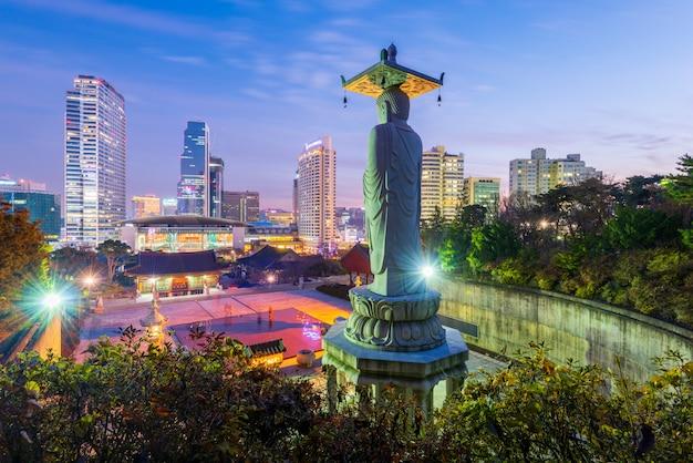 Templo de bongeunsa na coréia do sul