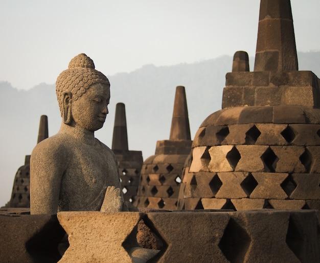Templo de borobudur, indonésia