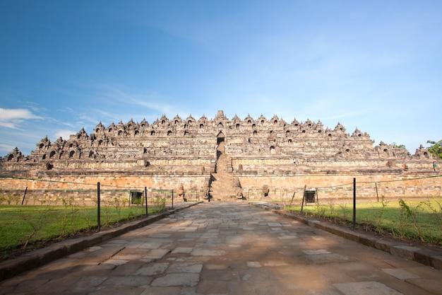 Templo de borobudur na indonésia