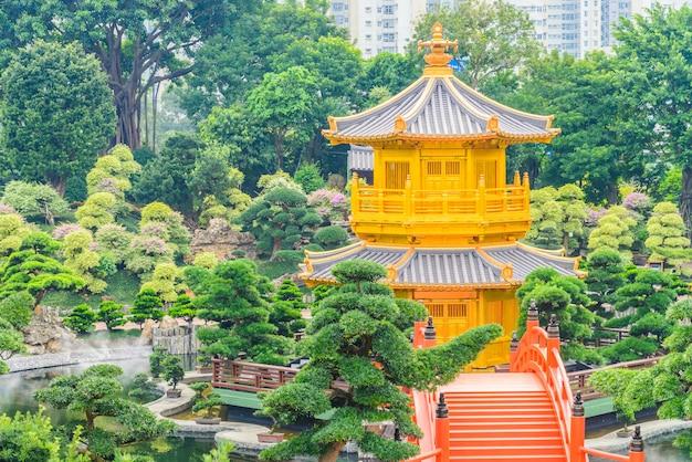 Templo de chi lin no jardim nan lian