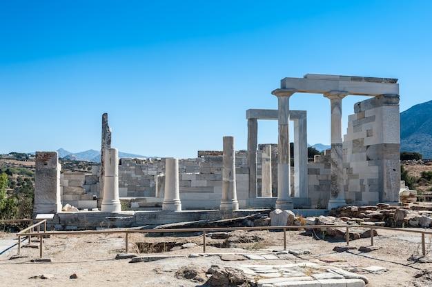 Templo de deméter em naxos