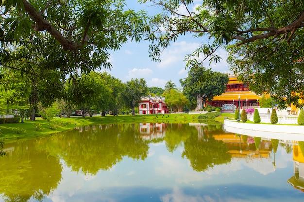 Templo de estilo chinês