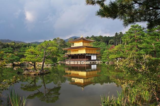 Templo de kinkakuji em kyoto, japão