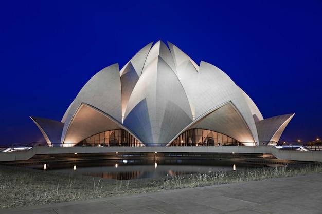 Templo de lótus, delhi