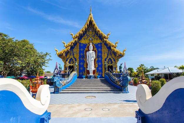 Templo de rong sua dez com céu azul