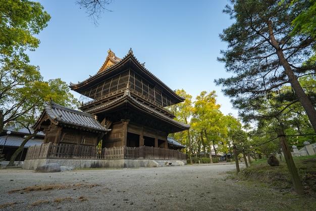 Templo de shofuku-ji em hakata, fukuoka, japão