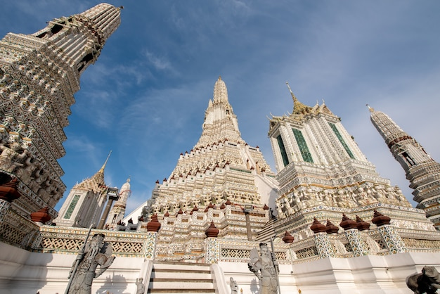 Templo de wat arun na tailândia