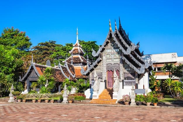 Templo de wat chedi luang em chiang mai na tailândia