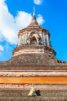 Templo de wat lok molee em chiang mai na tailândia