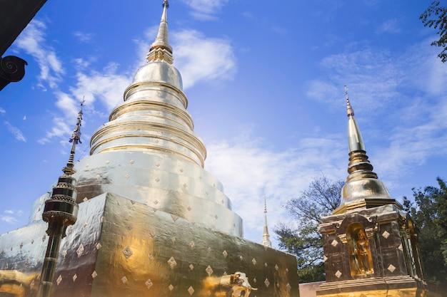 Templo de wat phra singh, chiang mai, tailândia