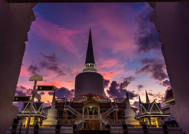 Templo de wat that-noi em nakhon si thammarat, tailândia