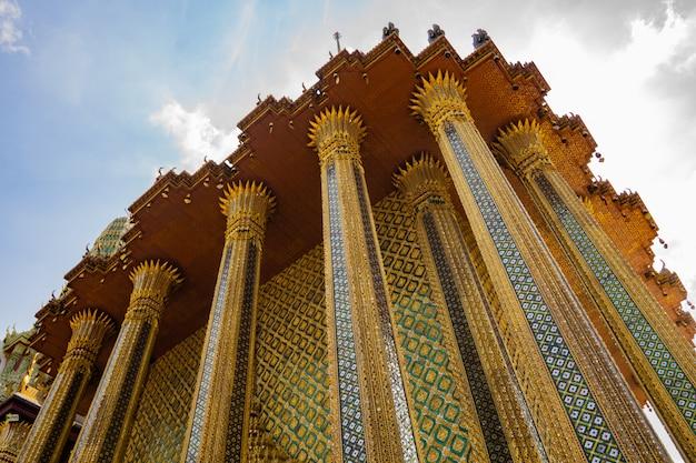 Templo do buda esmeralda - o centro histórico de bangcoc