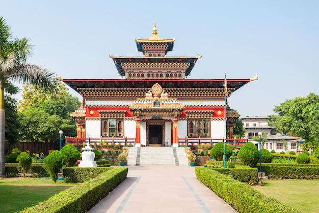 Templo do butão, bodhgaya