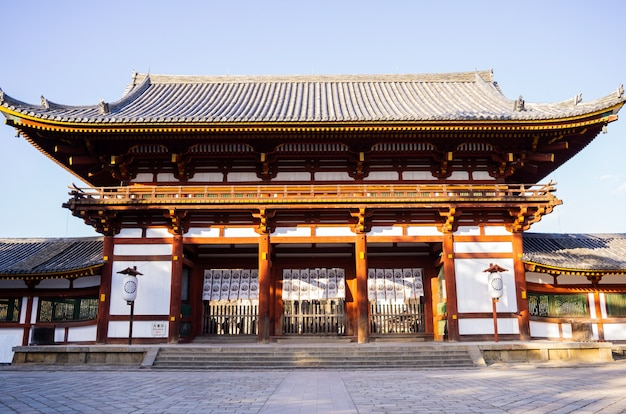 Templo do património no japão.