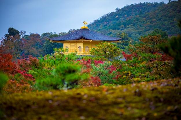 Templo do pavilhão dourado em kyoto