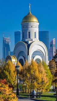 Templo do santo grande mártir george, o vitorioso