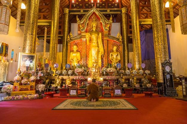 Templo dourado de tailândia