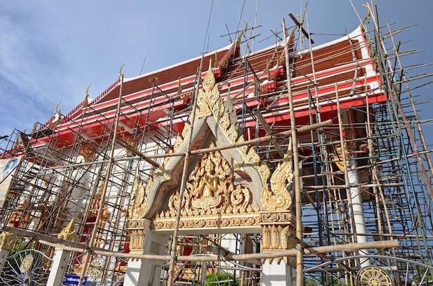Templo em renovação