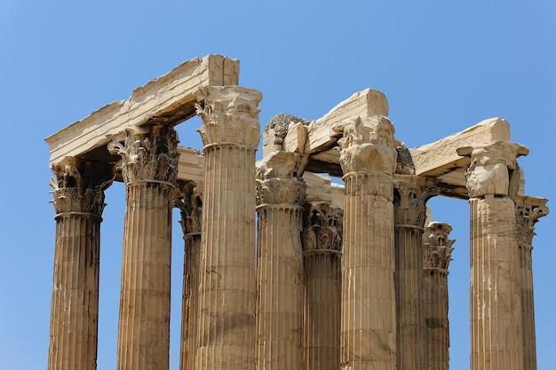 Templo grego em ruínas