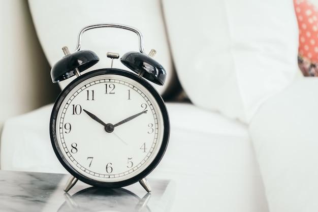 Tempo de casa relógio cedo cansado