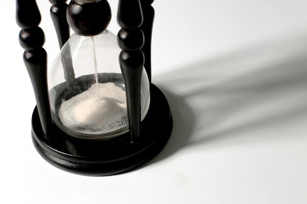 Tempo de medição da ampulheta