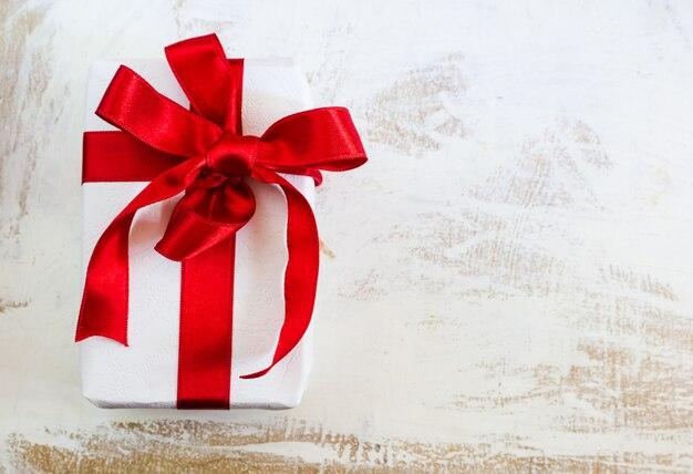 Tempo de natal com caixa de presente