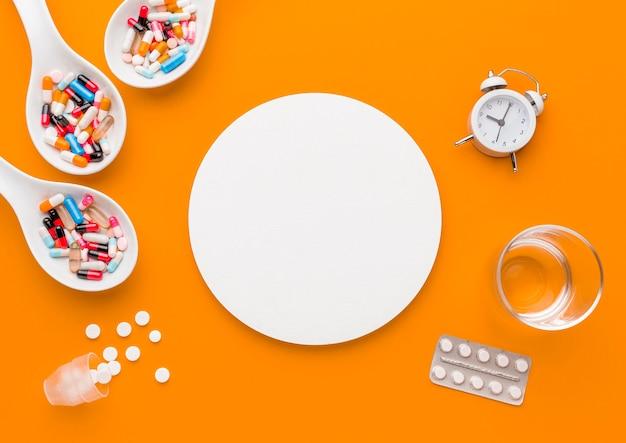 Tempo de postura plana para medicamentos