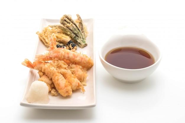 Tempura de camarão (camarão frito)