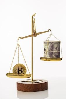 Tendência de aumento do valor do bitcoin