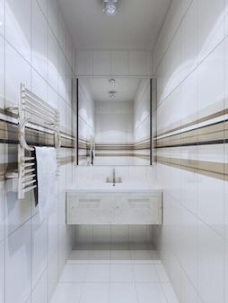 Tendência de banheiro de fusão
