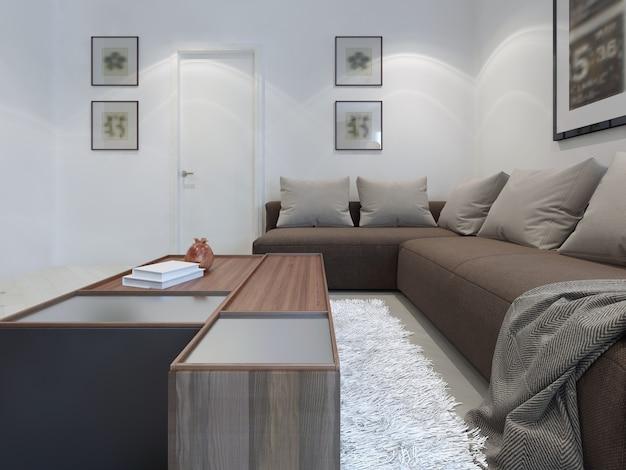 Tendência de salas de estar modernas