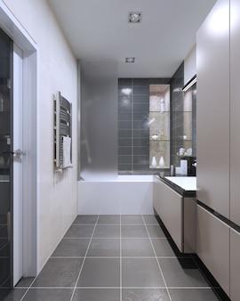 Tendência para banheiros caros de alta tecnologia