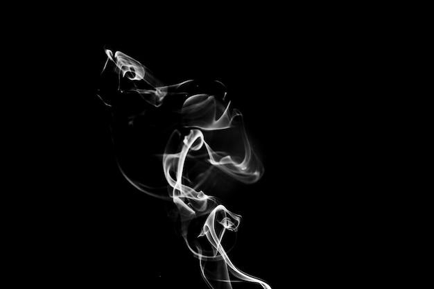 Tendril de fumaça lisa