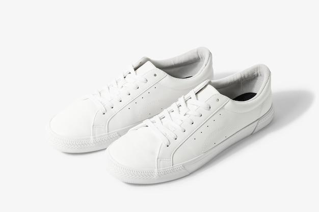 Tênis de lona branca calçado unissex da moda