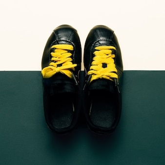Tênis, urban style fashion minimal design