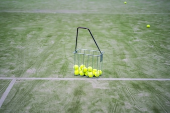 Tennisattributes, bolas