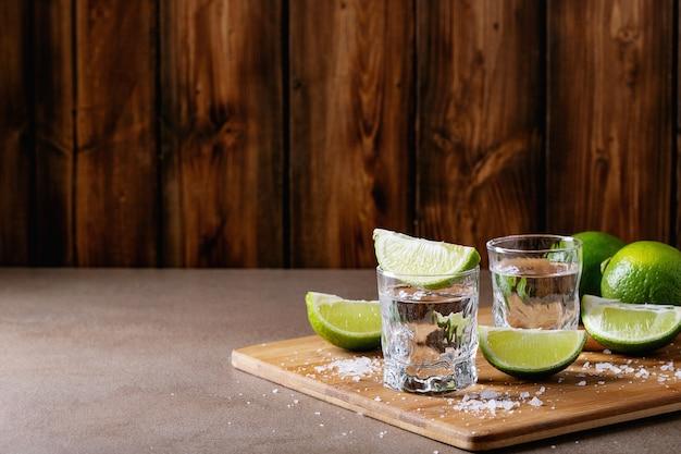 Tequila em um copo