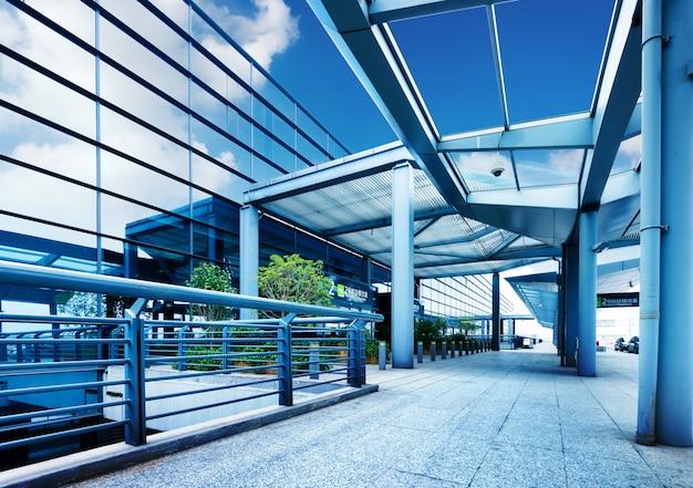 Terminal do aeroporto internacional de shanghai pudong