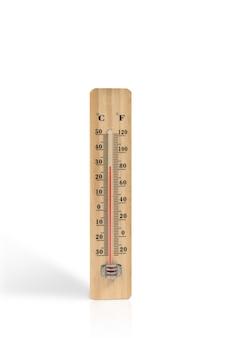 Termômetro de madeira