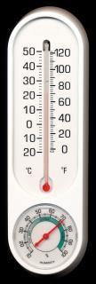 Termômetro e higrómetro