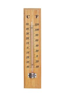 Termômetro isolado no fundo branco.