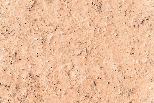 Terra de areia texturizada.