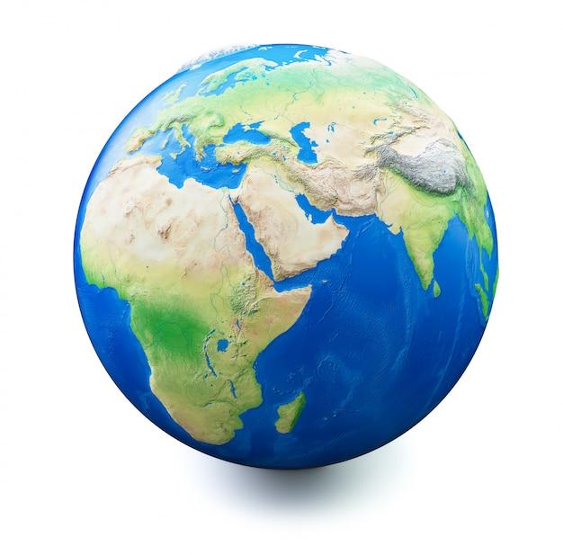 Terra isolada