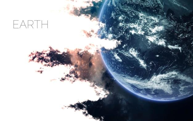 Terra no espaço