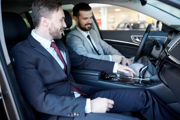 Test drive em carro novo