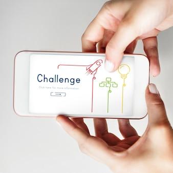 Teste de objetivo de desenvolvimento de competição de desafio